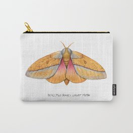 Bisected Honey Locust Moth (Sphingicampa bisecta) Carry-All Pouch