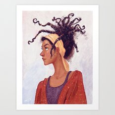 Dreads Art Print