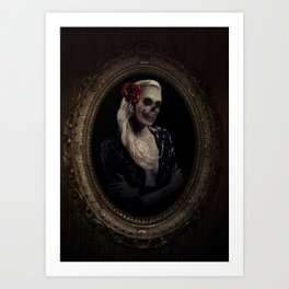 Out of the Skeletal Past Art Print