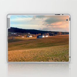 Meadows and farms in rural scenery | landscape photography Laptop & iPad Skin