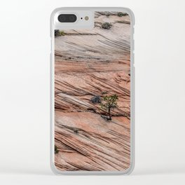 Slated Clear iPhone Case