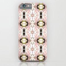 Pink flower pattern Slim Case iPhone 6s