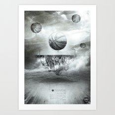 1891 - Basketball Art Print