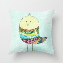 Little Claire's Bird Throw Pillow