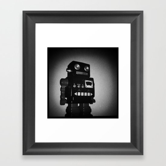 Toy Robot Framed Art Print