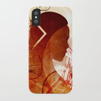 mother of dragons iPhone & iPod Cases featuring Mother of Dragons by Micheal Calcara