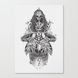 Voodoo people Canvas Print