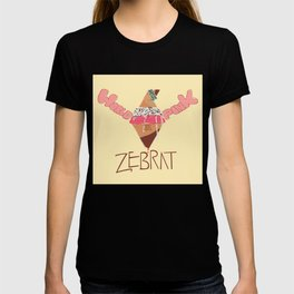 World in Pink - Zebrat Single Art T-shirt