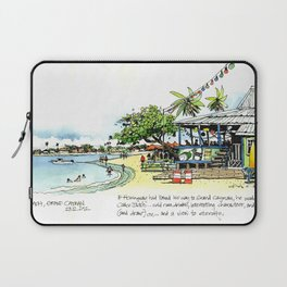 Calico Jack's, Grand Cayman (with notes) Laptop Sleeve