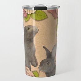 Rosie Rabbits Travel Mug