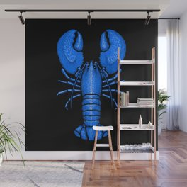 Divine Ascent of the Dominance Hierarchy Blue Lobster Wall Mural