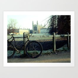 Cambridge  Morning #2 Art Print