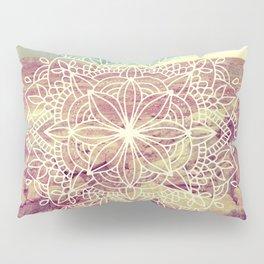 Rain Dance Desert Mandala Pillow Sham