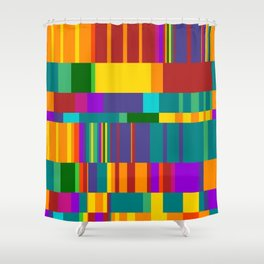 Chopin Prelude (Bright Colours) Shower Curtain