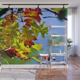 RED SOUND of FALL Wall Mural
