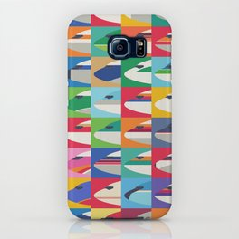 Retro Airline Nose Livery Design - Grid Small iPhone Case