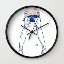 DIFFERENT is SAME Wall Clock
