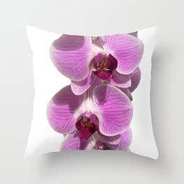 Bodacious bloom Throw Pillow