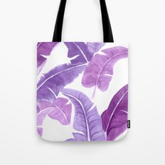 Purple Palms Tote Bag
