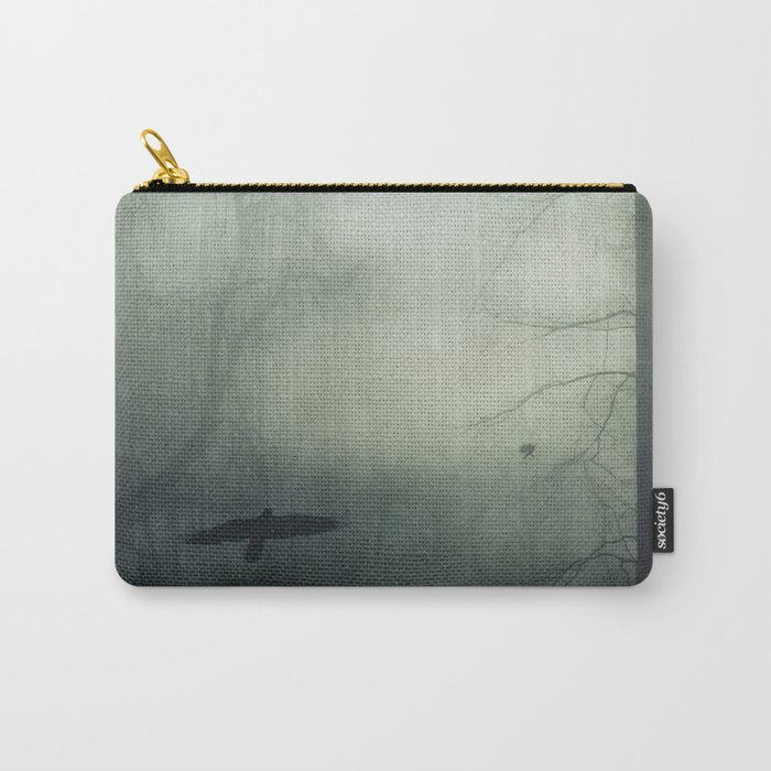 world wrapped in mist Carry-All Pouch
