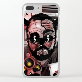 Demon Roulette Clear iPhone Case