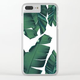 Banana Leaves Tropical Vibes #5 #foliage #decor #art #society6 Clear iPhone Case
