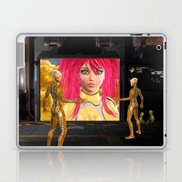 Sci-Fi Martians Alien Princess  Laptop & iPad Skin