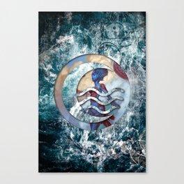 Kiora the waterbender Canvas Print