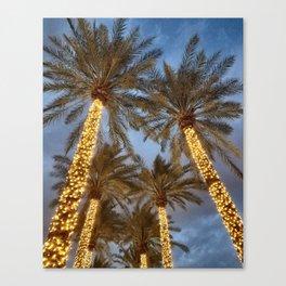 Palm Tree Paradise Canvas Print