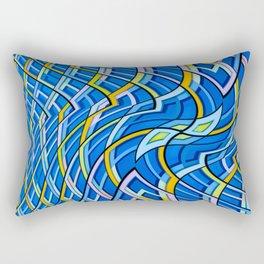 geometric abstraction Rectangular Pillow