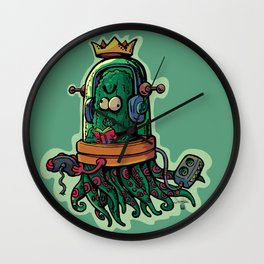 cucumber rookie player Wall Clock