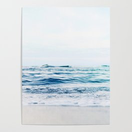 Calm Waves Poster