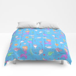 Narwhal and friends Comforters