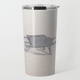 Wheel barrow Travel Mug