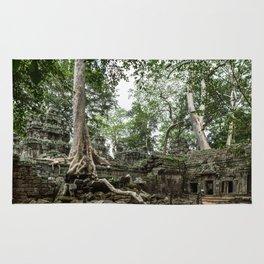 Ta Phrom, Angkor Archaeological Park, Siem Reap, Cambodia Rug