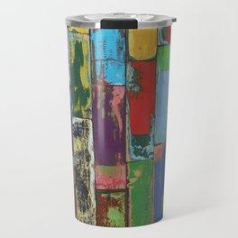 Coloured poles Travel Mug