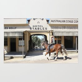 Cobb & Co Stables Rug
