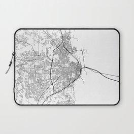 Minimal City Maps - Map Of Mobile, Alabama, United States Laptop Sleeve