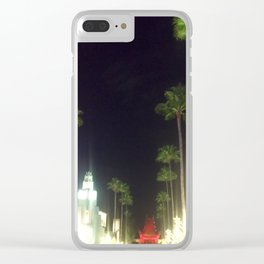 Main Street Plams Clear iPhone Case