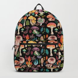 Mushroom heart Backpack