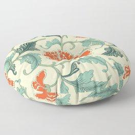 Chinese peony Floor Pillow