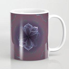 Amethyst Ornate Blossom in Soft Pink Coffee Mug