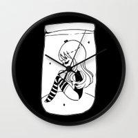 frankenstein Wall Clocks featuring ▴ frankenstein ▴ by PIXIE ❤︎ PUNK