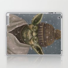 Christmas Yoda Laptop & iPad Skin