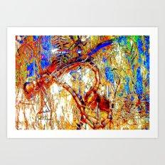 Dragon Flies 2 Art Print