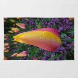 Trippy Tulips Rug