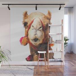 Camel Portrait Wall Mural