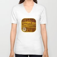 geology V-neck T-shirts featuring Geology 3 by Patricia Howitt