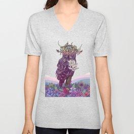 Journeying Spirit (Owl) Unisex V-Neck