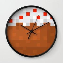 MineCake Wall Clock